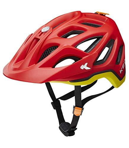 KED Trailon – Incluye cinta de seguridad RennMaxe – Casco de bicicleta MTB BMX adultos jóvenes