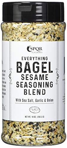 Everything Bagel Seasoning Blend Original XL 10 Ounce Jar.
