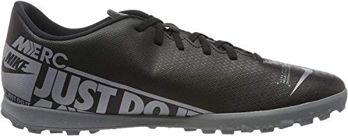 Nike Mens AT7999-001_45 Turf Football Trainers, Black, EU