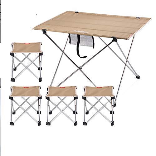 Kleiner Gartentisch mit Kunststoffoberfläche im Rattan Look wasserfest stabile Standbeine aus Eisen Huf artige Füße Sicherheitsriegel Gemacht
