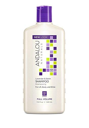 Andalou Naturals Lavender and Biotin Full Volume Shampoo, 11.5 Ounce
