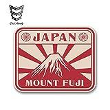PJYGNK Sticker de Carro 13 cm x 12 cm Estilo de Coche Pegatina de Coche Japón Monte Fuji Pegatina de Vinilo Casco para portátil Bicicleta Coche Dardos Regalo Pegatina Impermeable