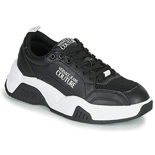 Versace Jeans - Zapatillas deportivas para hombre Negro Size: 42 EU