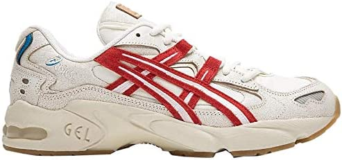 ASICS Men s Gel Kayano 5 OG Shoes 12M Cream Classic RED product image