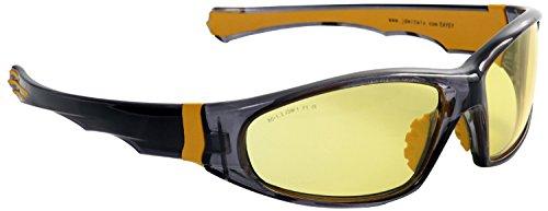 Eagle EAYEY veiligheidsbril met glazen van polycarbonaat, voor goede zichtbaarheid