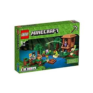 Amazon.co.jp - レゴ マインクラフト ウィッチの小屋 21133