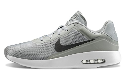 Nike Herren Air Max Modern Essential Low-Top, Grau (002 Wolf Grey/Dark Grey-Wolf Grey-White), 41 EU