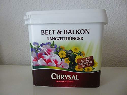 Chrysal Beet & Balkon Langzeitdünger Eimer 900g