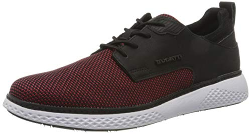 bugatti Herren 322763026900 Sneaker, Red, 43 EU