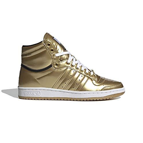 adidas Top Ten Hi Star Wars - Zapatillas deportivas para hombre, color dorado, Hombre, FY2458, dorado, 39 1/3 EU