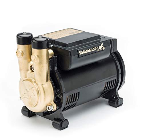 Salamander CTFORCE 20PS 2.0 Bar Brass Single Impeller Shower Pump + Hoses