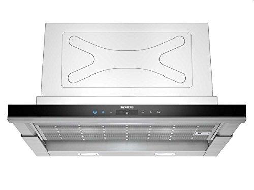 Siemens LI67SA670 iQ700 Capot écran, 59,8 cm, Performance du Ventilateur, Acier inoxydable