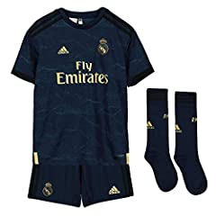 Adidas Camiseta 2ª Equipación  Real Madrid kit 2019/2020 Niños