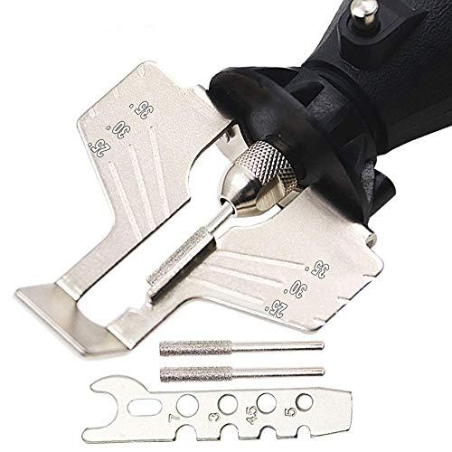 Outil de meulage pour tronçonneuse spéciale, dents pour affûtage de chaîne Kit de tronçonneuse pour tronçonneuse tronçonneuse Power-Sharp Tronçonneuse Outils dentés