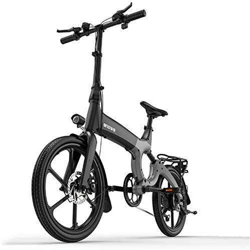 RDJM Bici electrica, Bicicleta eléctrica de montaña Adulta, 384WH 36V batería de...