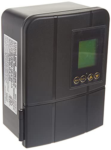 Sterno Home GL33120 12V 120W Low Voltage Landscape Lighting Transformer with Dusk-to-Dawn Timer, Grey