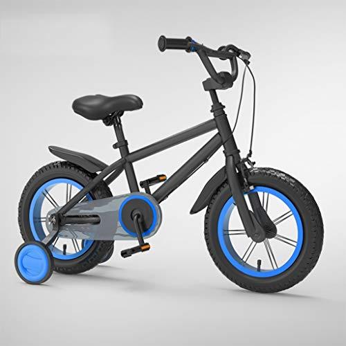 Bici Bambino 14 16 18 Pollici Kids Bike For Età 3-8 Anni Dei Ragazzi Delle Ragazze Bicicletta Con Rotelle Di Addestramento, Balance Bike Mountain Bike, Acciaio Al Carbonio Telaio, Con Freno A Mano