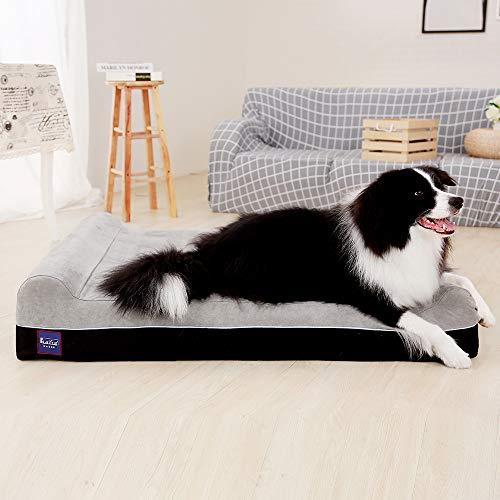 Laifug Orthopedic Memory Foam Extra Large Dog Bed Pillow