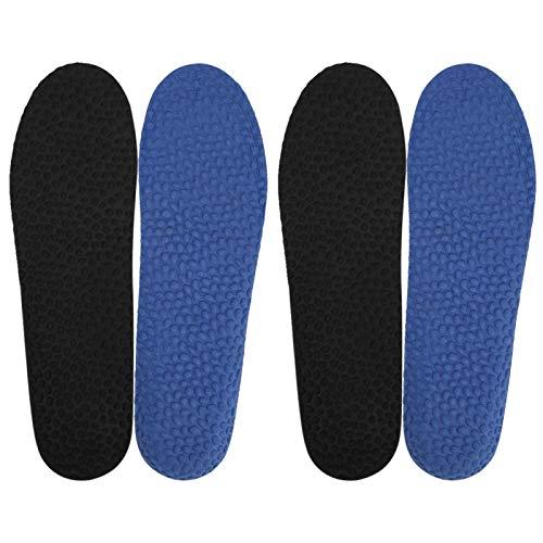 Cojín para Zapatos, Plantilla Deportiva, Transpirable para Hombres y Mujeres para Botas de Trabajo, Zapatos para Caminar, Correr y Casuales(Male Size)