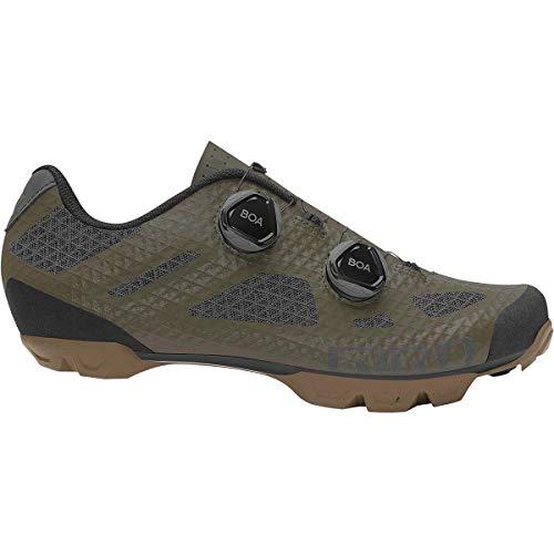 Giro Sector Cycling Shoe - Men's Olive/Gum, 44.5
