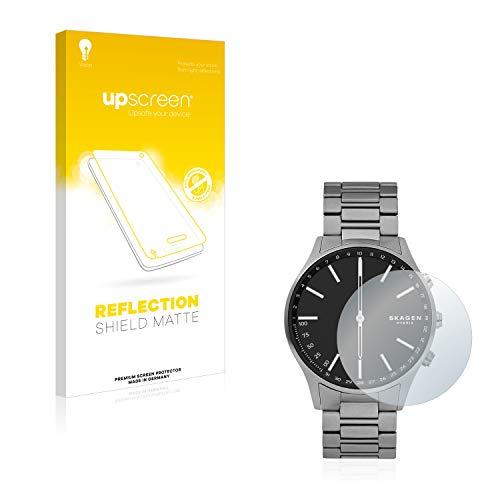 upscreen Entspiegelungs-Schutzfolie kompatibel mit Skagen Hybrid Smartwatch Holst – Anti-Reflex Bildschirmschutz-Folie Matt