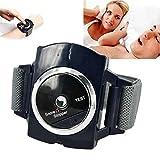 XRZS Dispositivo Antirronquidos Pare el Ronquido Reloj Inteligente de Pulsera Antirronquidos la Mejor Solución de Sueño Saludable Anti Snoring para Hombres Mujeres