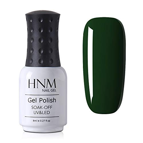 Smalto Semipermanente per Unghie HNM Gel Colori in Avocado Verde UV LED Smalto per unghie Manicure Smalti Gel Polish per Unghie Soak Off in 1pzs 8ML - 05