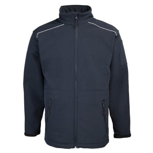 RTY Workwear - Veste de Travail Hydrofuge et Coupe-Vent - Homme (2XL) (Bleu Marine)