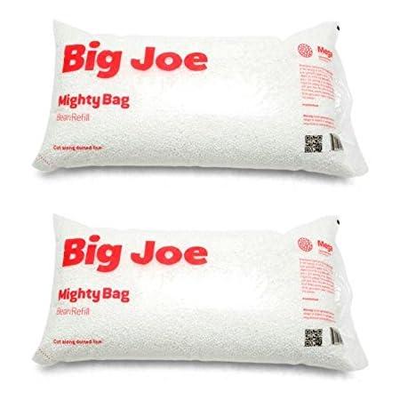 Big Joe Bean Bag Refill, White