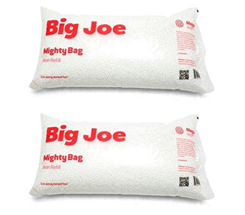 Big Joe Bean Bag Refill, 2PK 100 L, White