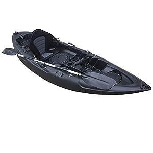 Cambridge Kayaks Unisex's Single sit on top Kayak, Black, 280cm Long