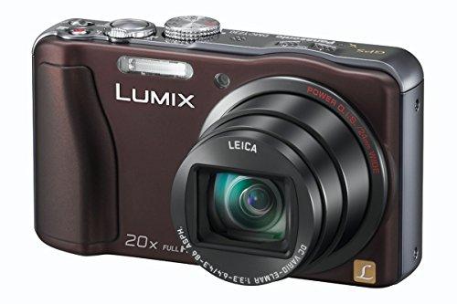 Panasonic DMC-TZ30EF-T Lumix TZ30 - Cámara de fotos digital compacta (14 Mp, zoom Leica 20x), color marrón [importado de Francia]