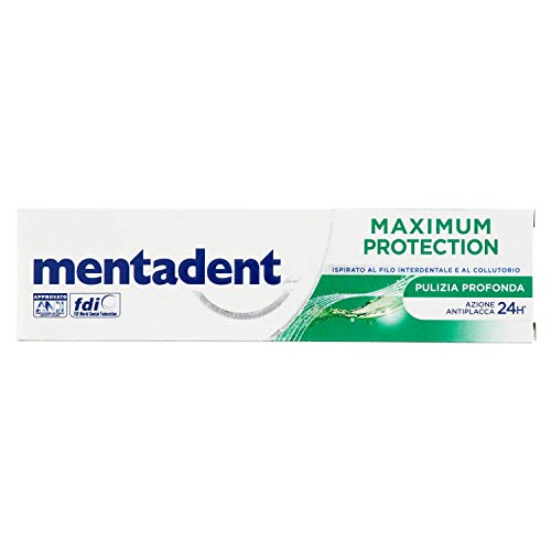 Mentadent Maximum Protection Pulizia Profonda, 75 ml