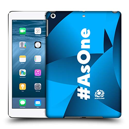 Official Scotland Rugby Sky Blue 2020/21 As One Hard Back Case Compatible for Apple iPad Air (2013)