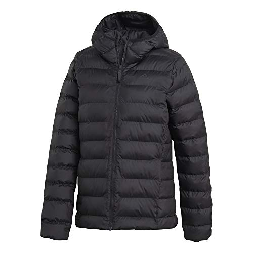 adidas W Syn Fil HD JK Jacket (Midweight), Mujer, Black/Carbon, S