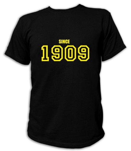 Artdiktat T-Shirt Since 1909 Special Edition Unisex, Grösse M, schwarz