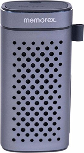 FlexBeats Memorex MWB3363 Portable Bluetooth Speaker - Gunmetal Gray