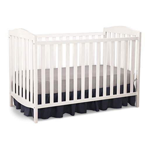 Delta Children Capri 3-in-1 Convertible Baby Crib, White