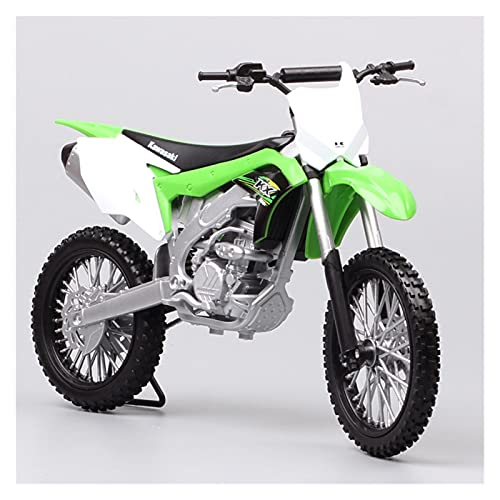 Boutique 1:10 para KAW┐ASAKI KX 250F Motocross Modelo Carreras Vehículo Motocicleta Juguete Miniaturas para Colección Aficiones Réplicas
