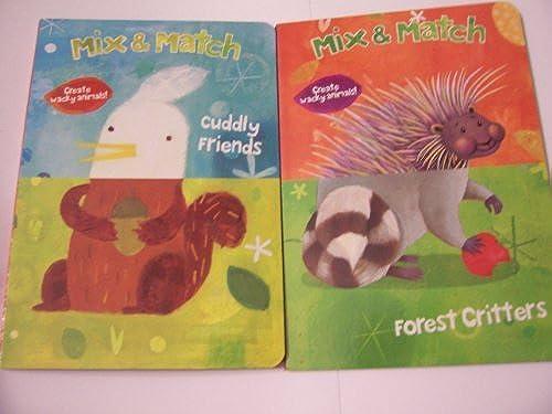productos creativos Mix & Match Educational Book Set    Create Wacky Animals 2 Book Set (Cuddly Friends & Forest Critters) by Dalmatian Press  primera reputación de los clientes primero