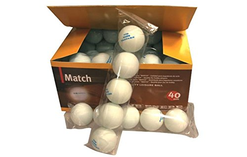 Pelotas Tenis Mesa Enebe Sport 40mm Blanco Caja 60 Bolas