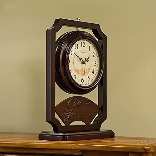 Reloj Retro Mantel, Reloj De Mesa, Modernos Relojes De Escritorio De No Ticking Silenciosos, Escritorio, Usado Para La Decoración De La Sala De Estar Para La Sala De Estar Y El Dormitorio Mantel