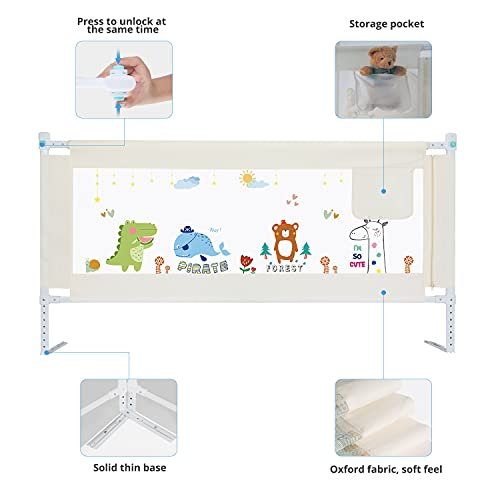 GOSFUN Protectores para cunas y camas de bebé
