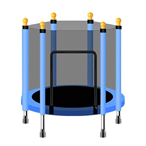 Mini-trampoline, fitness, voor kinderen, aerobie-trainer, 110 cm/140 cm, met verstelbare handgreep, geschikt voor indoor/outdoor/tuin/yoga