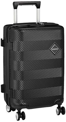 [アメリカンツーリスター] スーツケース キャリーケース グルービスタ スピナー 55/20 TSA 機内持ち込み可 保証付 34L 55 cm 2.9kg ジェットブラック