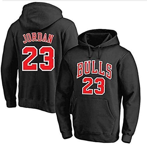 ZEH Sudadera con capucha para hombre, diseño de Michael Jordan Bulls 23, sudadera con capucha y capucha, talla XXL
