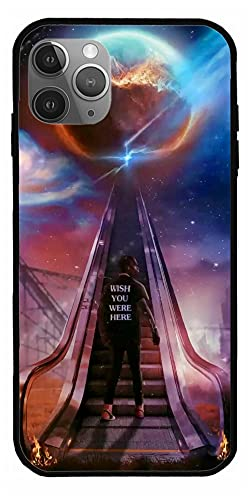 RENATEE Case Compatible with iPhone 11 American Rapper Travis Scott Hoodie Hip Hot Jackboys Astroworld Birds Sing Pure Clear Phone Cases Cover Full Body