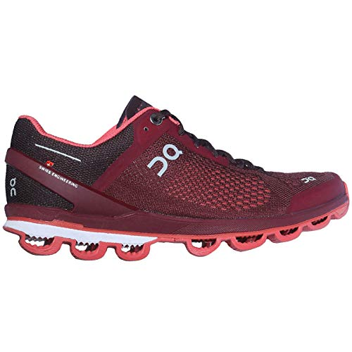 Zapatillas On Running Surfer Mulberry Mujer 37 Granate