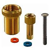 Prolongador de llave de corte Flex para llaves de corte rectas y en U de los sistemas Q&E, S-Press y RTM, color dorado (referencia 1023163), estándar