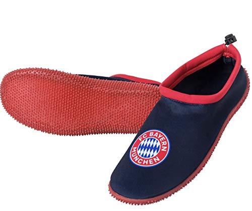 FC Bayern München Bade-Sandalen Schuhe, Sandalen, Badesandalen, Badeschuhe, Bade-Schuhe, 凉鞋, サンダル, صنادل, Sandals, Sandalias (43/44)